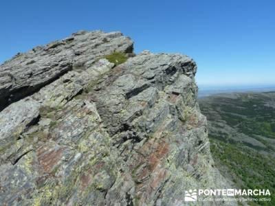 Senderismo Segovia - Macizo de la Buitrera; club montaña madrid gente joven